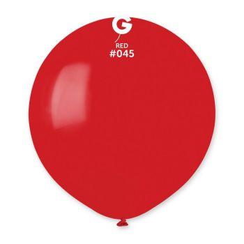10 Ballons rouge berry Ø48cm