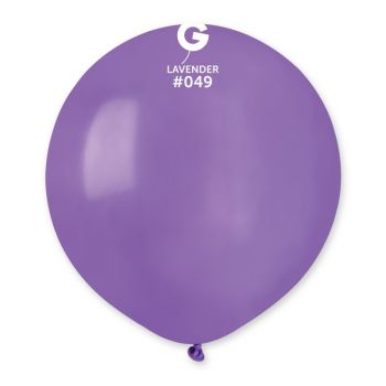 10 Ballons lavande Ø48cm