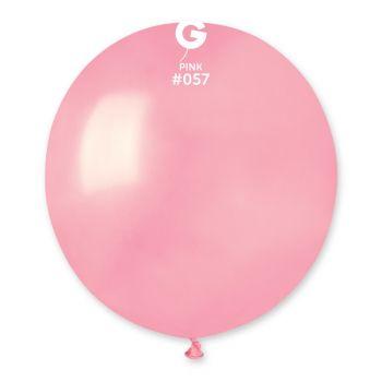 10 Ballons rose bonbon Ø48cm