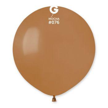 10 Ballons moka Ø48cm