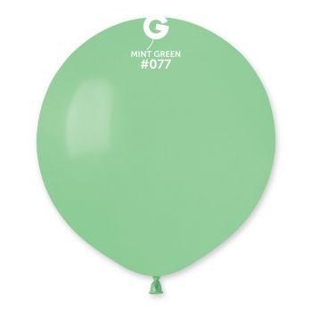10 Ballons mint Ø48cm
