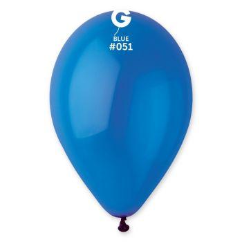 12 Ballons bleu roi Ø30cm