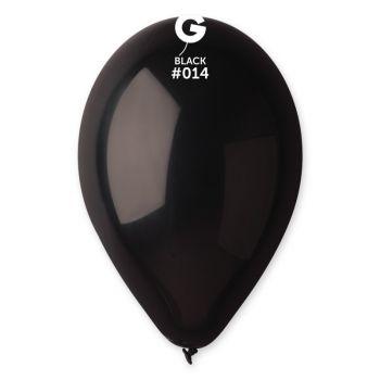 12 Ballons noir Ø30cm