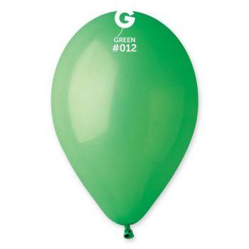 12 Ballons vert Ø30cm