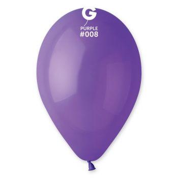12 Ballons violet Ø30cm