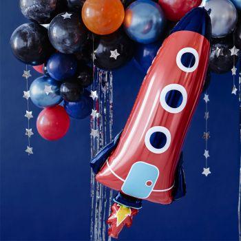 Ballon alu Fusée