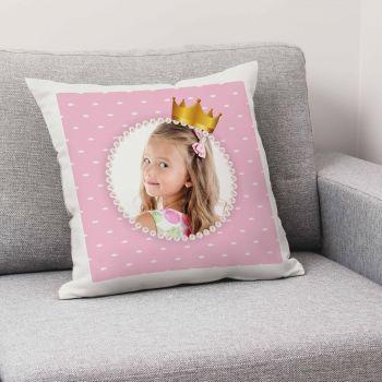 Coussin personnalisé décor Princesse