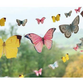 Guirlande de papillons papier