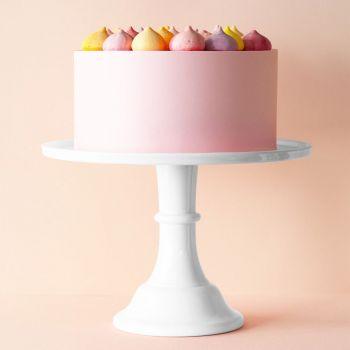 Presentoir à gâteau blanc grand modèle