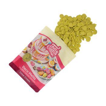 Deco Melts Funcakes vert lime 250gr