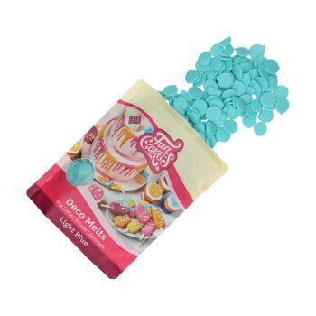 Deco Melts Funcakes bleu clair 250gr