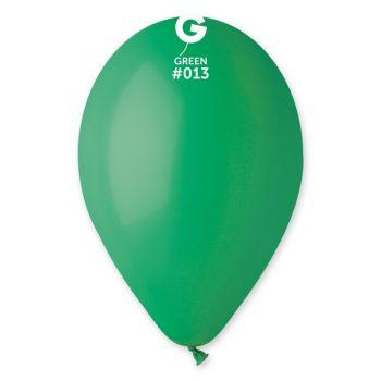10 Ballons vert Ø30cm