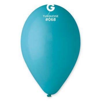 50 Ballons turquoise Ø30cm