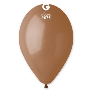 10 Ballons moka Ø30cm