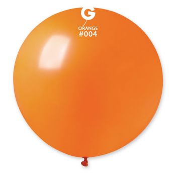1 Ballon géant orange Ø80cm
