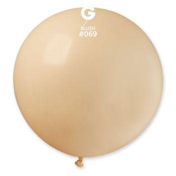 1 Ballon géant blush Ø80cm