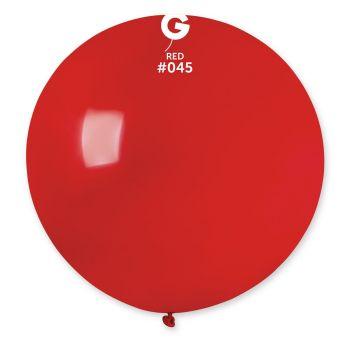 1 Ballon géant rouge berry Ø80cm