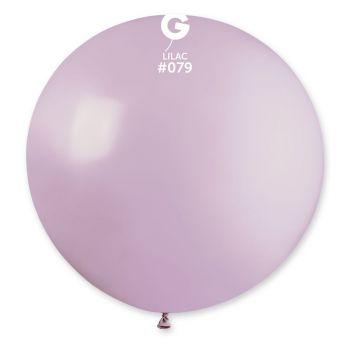 1 Ballon géant lilas Ø80cm