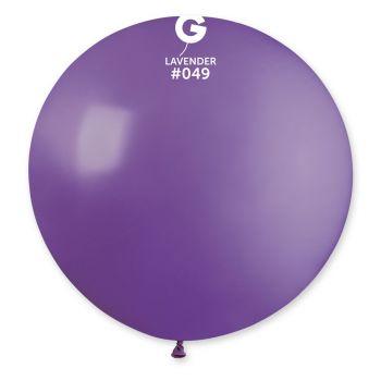 1 Ballon géant lavande Ø80cm