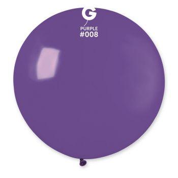 1 Ballon géant violet Ø80cm