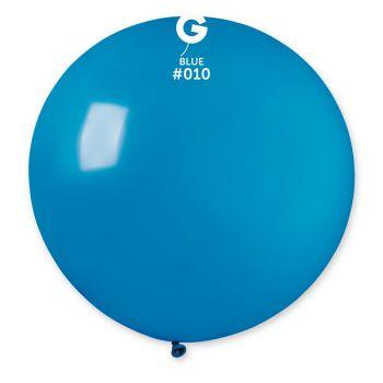 1 Ballon géant bleu Ø80cm