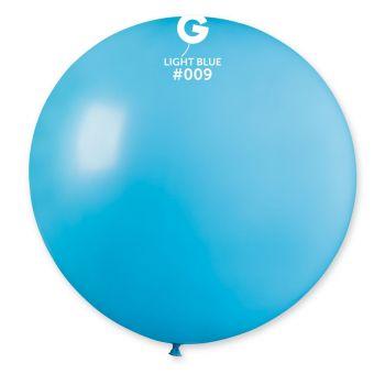 1 Ballon géant bleu lagon Ø80cm