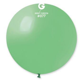 1 Ballon géant mint Ø80cm