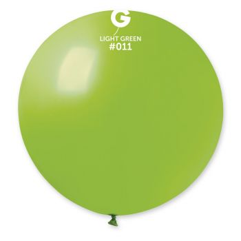 1 Ballon géant vert anis Ø80cm
