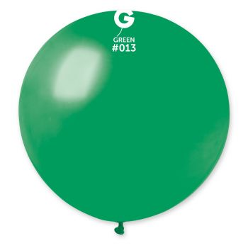 1 Ballon géant vert Ø80cm