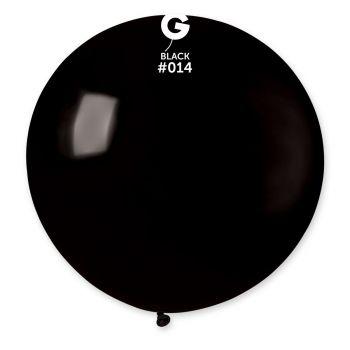 1 Ballon géant noir Ø80cm