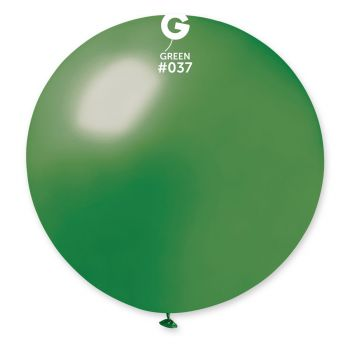 1 Ballon géant vert sapin Ø80cm