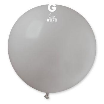 1 Ballon géant gris Ø80cm