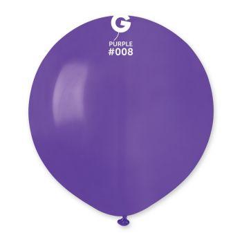 10 Ballons violet Ø48cm