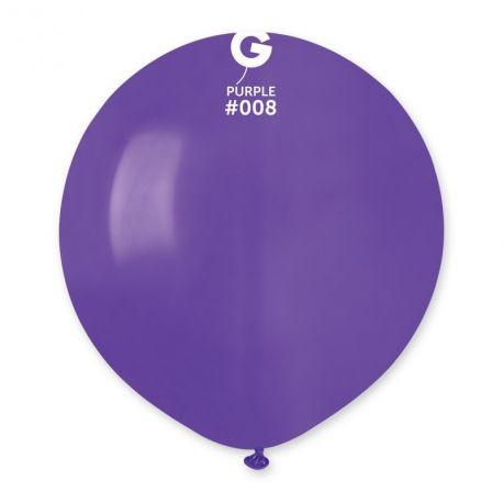 10 Ballons en latex violet idéal pour vos décoration de fête et d'anniversaire et d'arches à ballons !Ø48cm