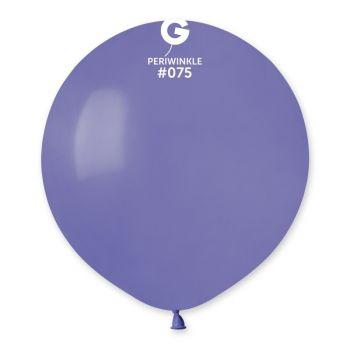10 Ballons pervenche Ø48cm
