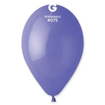 50 Ballons pervenche Ø30cm