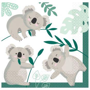 20 Serviettes Koala