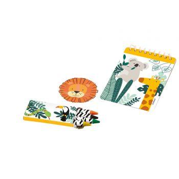 Kit cadeaux Jungle Wild 24 pièces