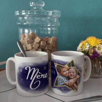 Mug personnalisé décor Maman Mère-veilleuse