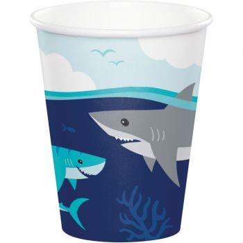 8 Gobelets Requin