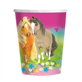 8 Gobelets Pretty Pony