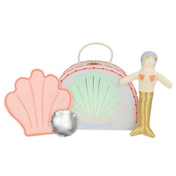 Mini valise peluche Sophia la sirène