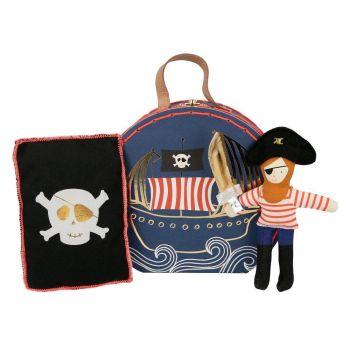 Mini valise peluche pirate