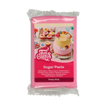 Pâte à sucre Funcakes Rose bonbon 250gr