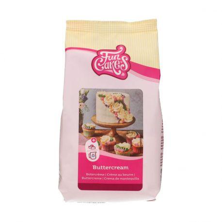 Préparation gâteau en poudre pour réaliser de la délicieuse crème au beurre pour le topping de vos cupcakes, la garniture de vos...
