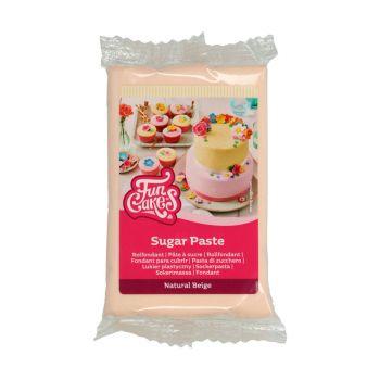Pâte à sucre chair 250 grs Funcakes