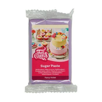 Pâte à sucre Funcakes violette 250gr