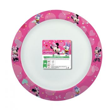8 Assiettes Minnie Home compost