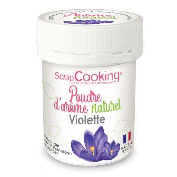 Poudre arôme naturel violette Scrapcooking