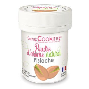 Poudre arôme naturel pistache Scrapcooking
